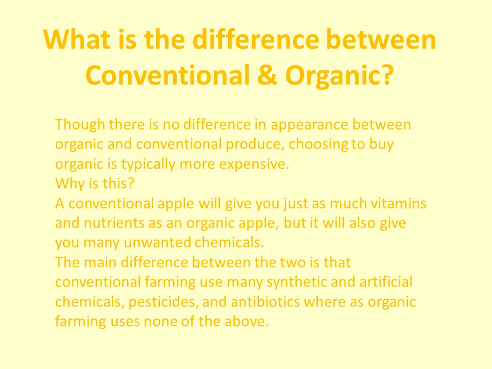 Difference Between Organic Farming And Natural Farming
