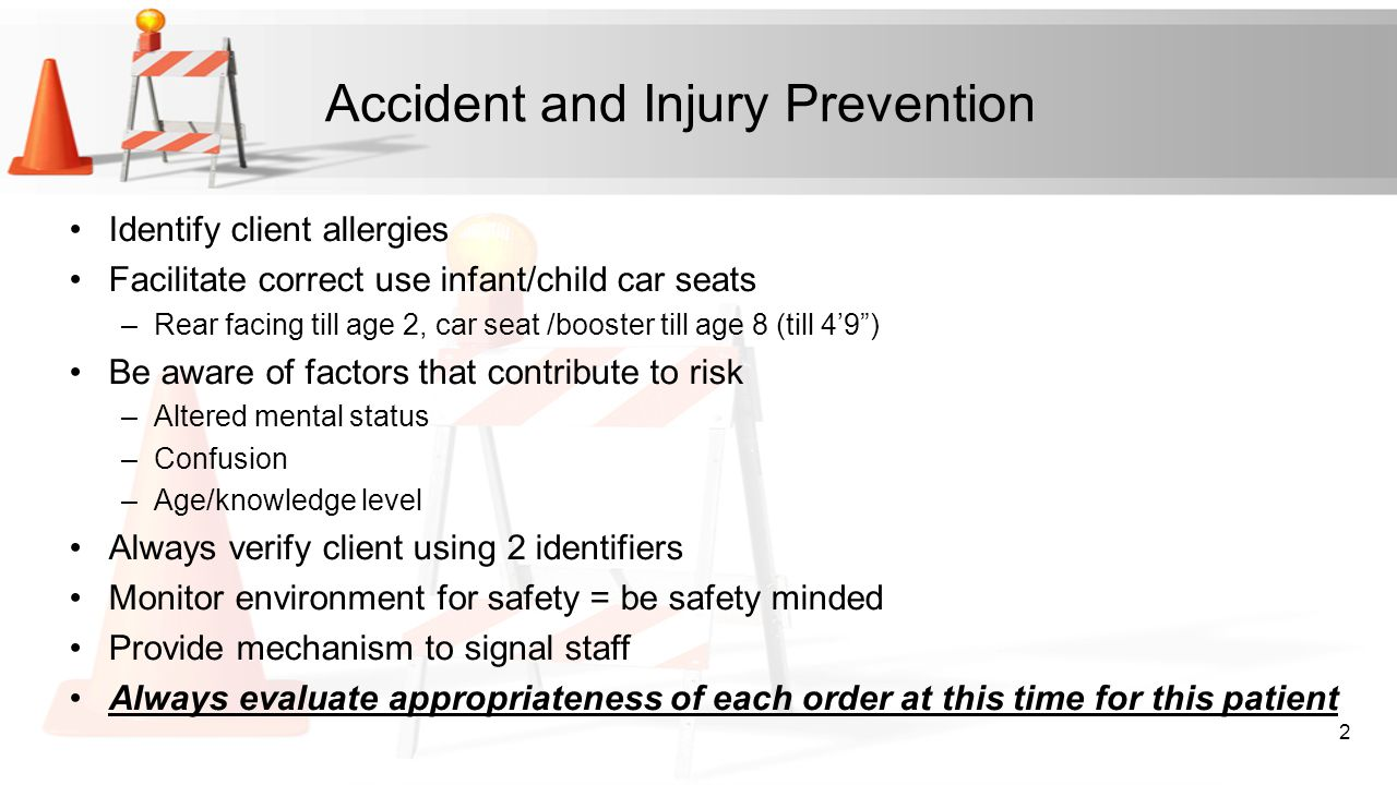 Accident and Injury Prevention