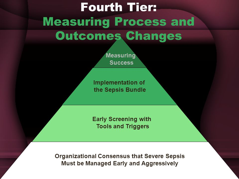 Fourth Tier: Measuring Process and Outcomes Changes