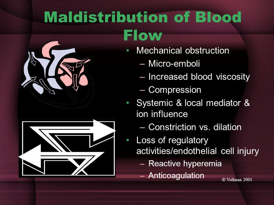 Maldistribution of Blood Flow