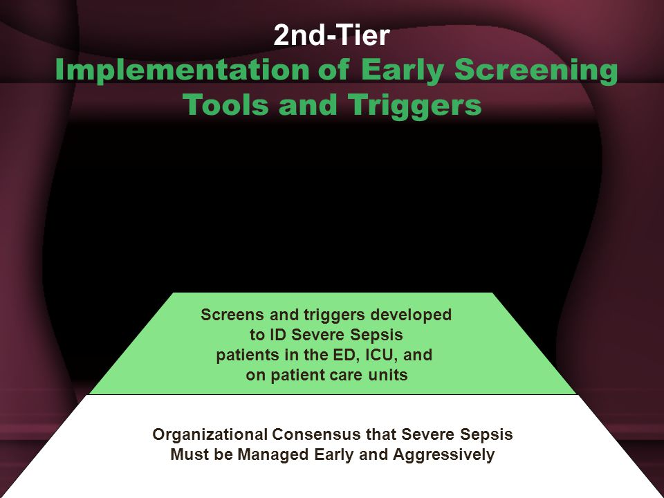 2nd-Tier Implementation of Early Screening Tools and Triggers