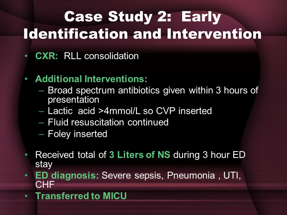 Case Study 2: Early Identification and Intervention