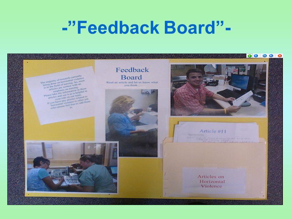 - Feedback Board -