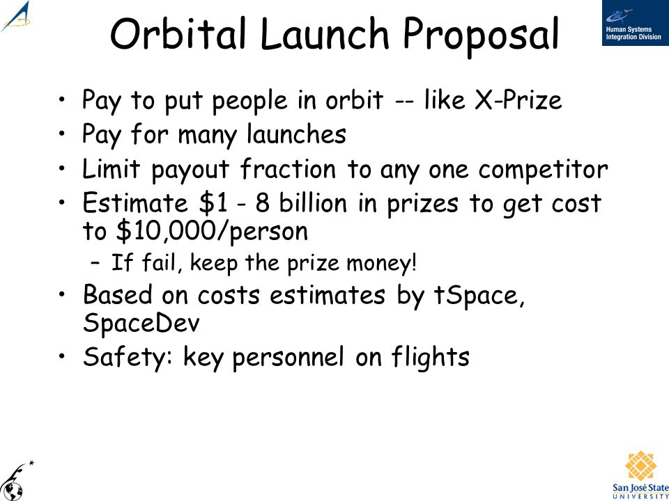 Orbital Launch Proposal
