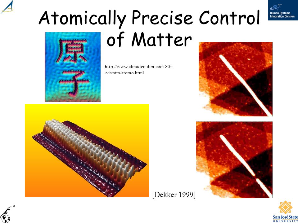 Atomically Precise Control of Matter