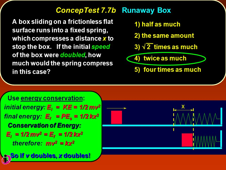 ConcepTest 7.7b Runaway Box