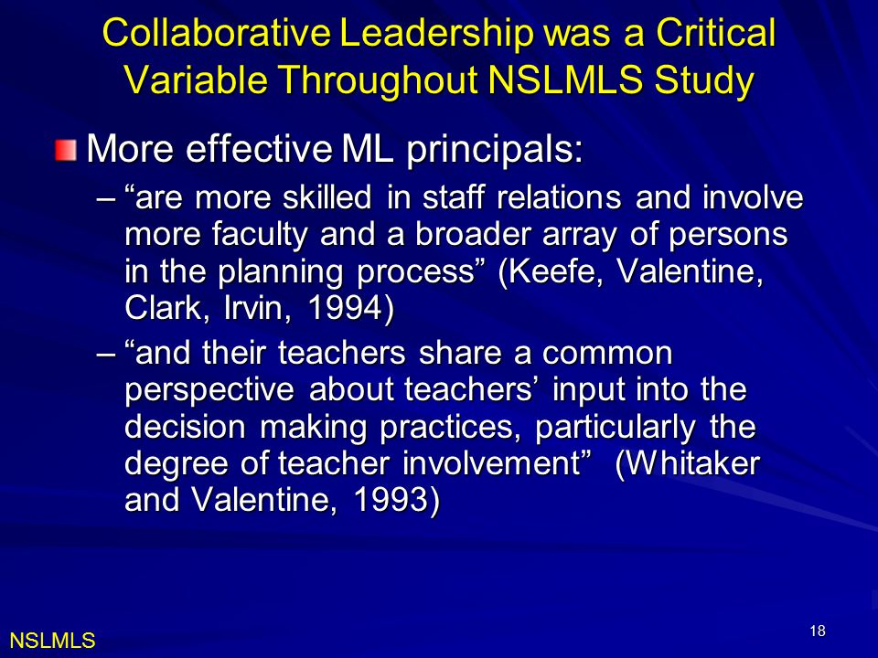 More effective ML principals: