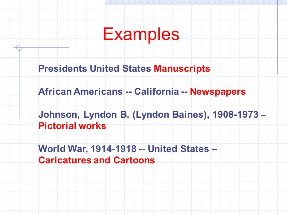 Examples Presidents United States Manuscripts