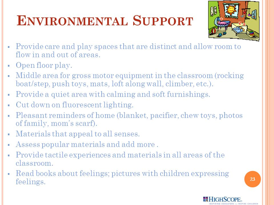 Environmental Support