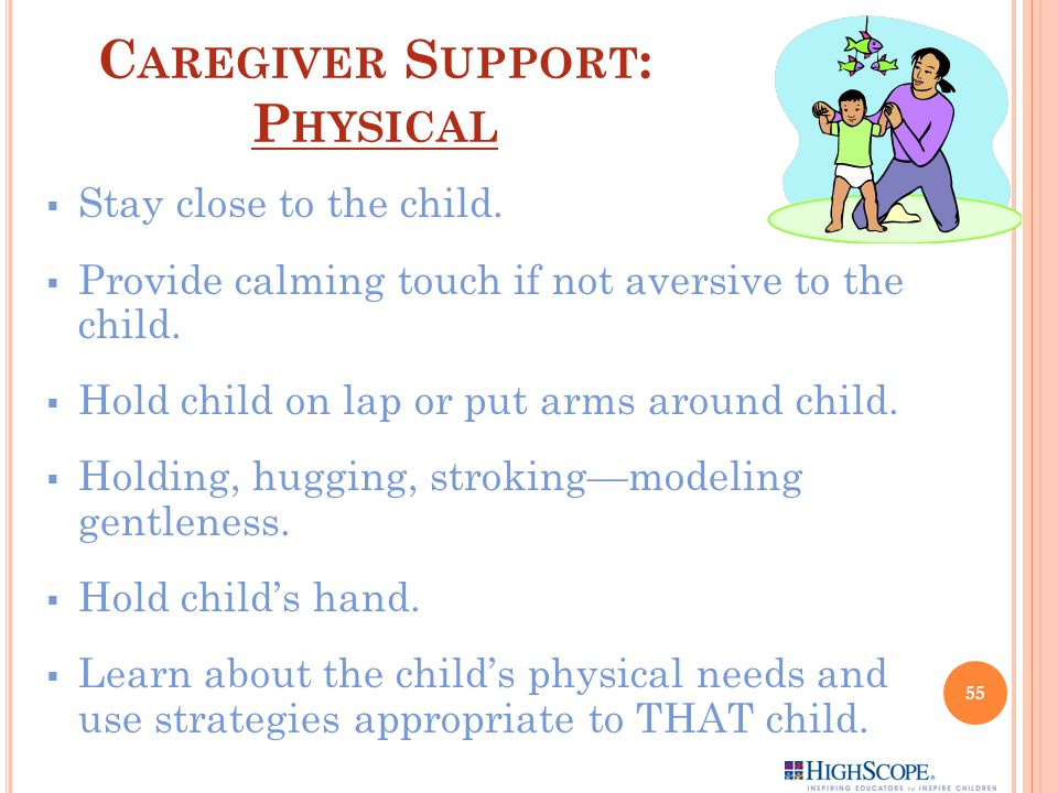 Caregiver Support: Physical