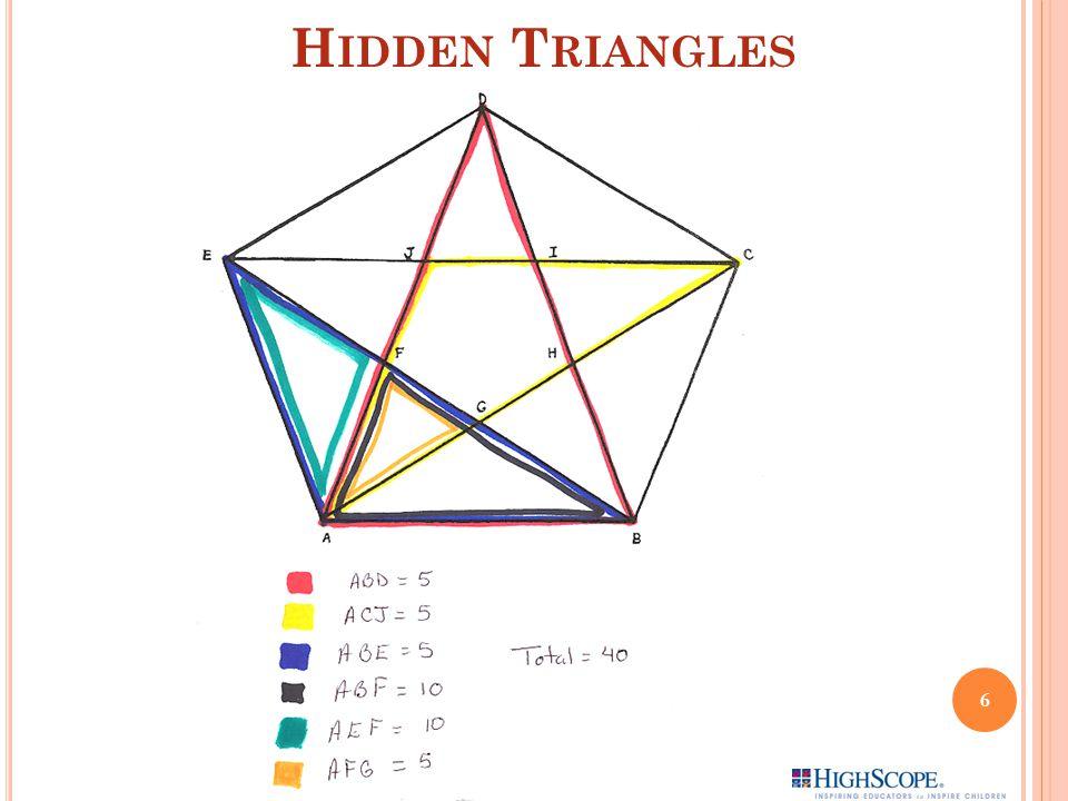 Hidden Triangles