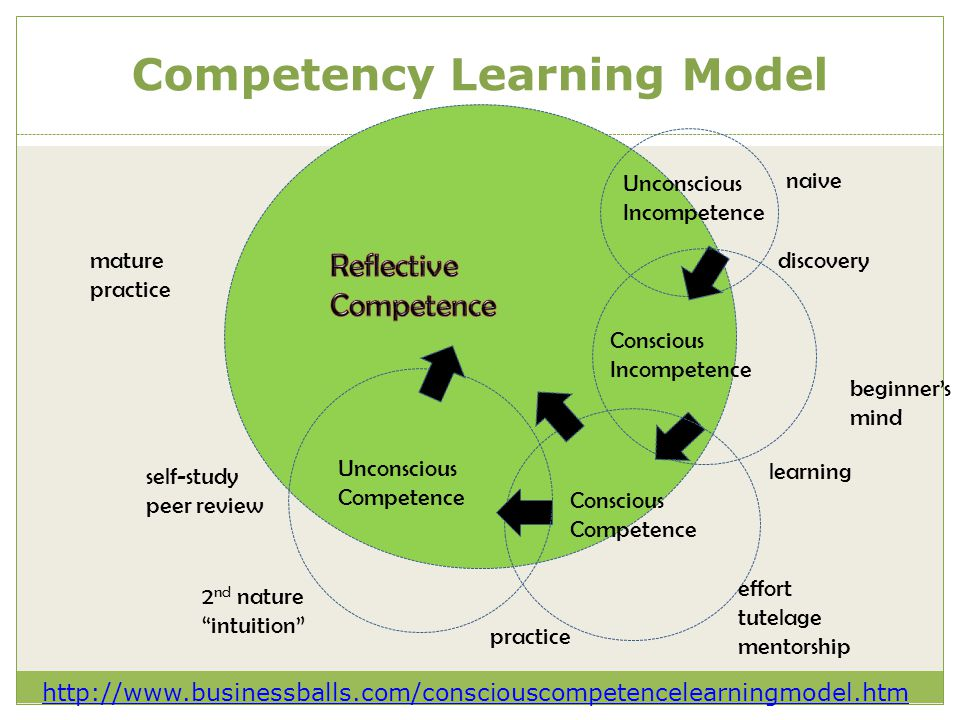 Competency Learning Model