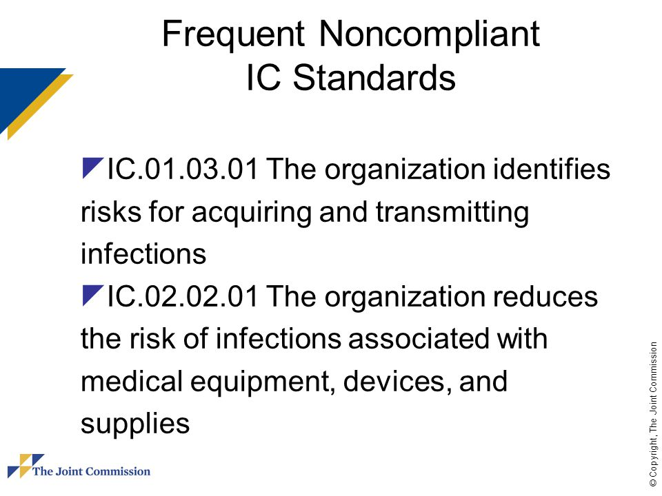 Frequent Noncompliant IC Standards
