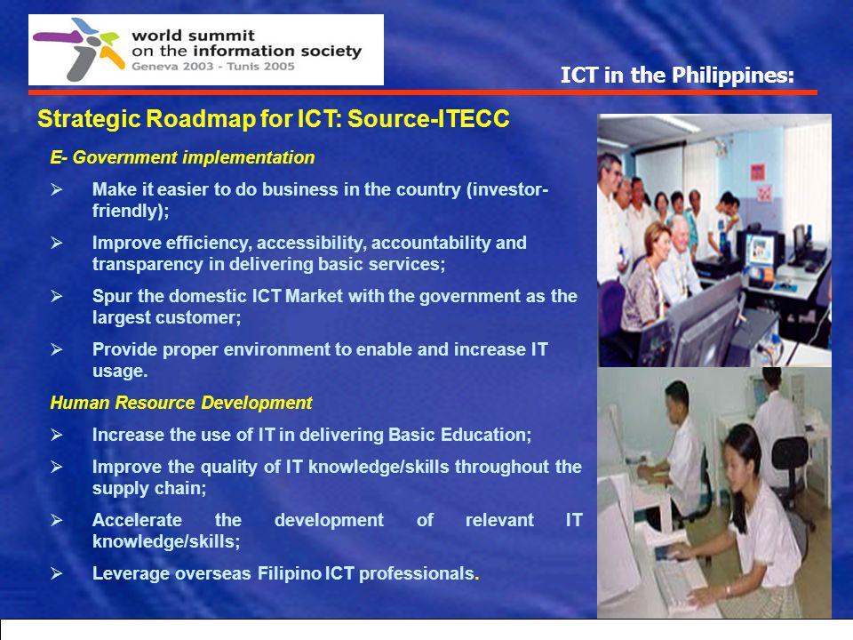 Strategic Roadmap for ICT: Source-ITECC