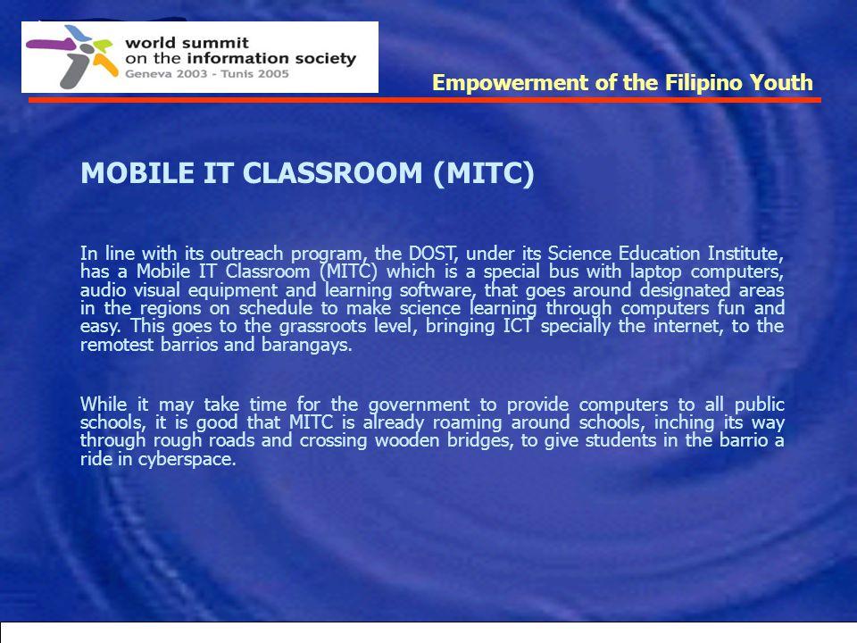 MOBILE IT CLASSROOM (MITC)