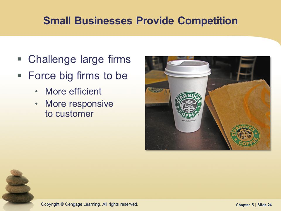 Small Businesses Provide Competition