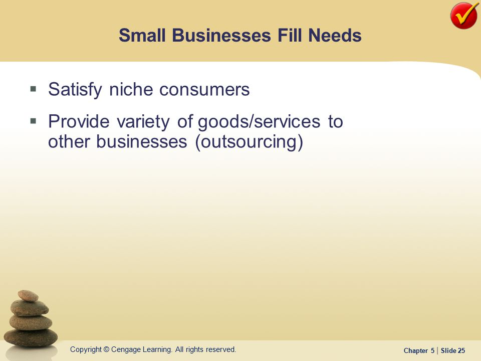 Small Businesses Fill Needs