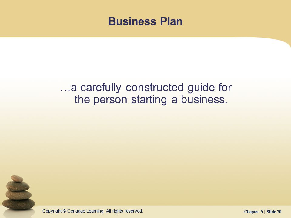 …a carefully constructed guide for the person starting a business.