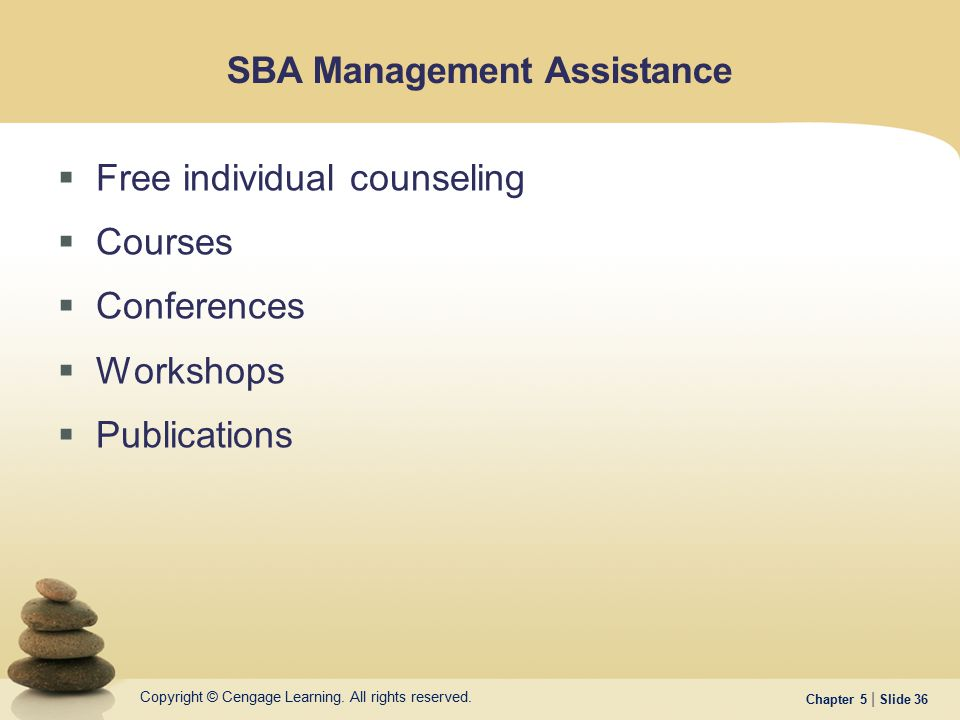 SBA Management Assistance