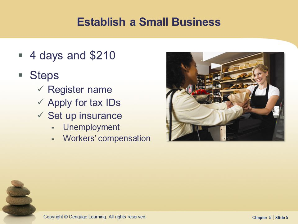Establish a Small Business