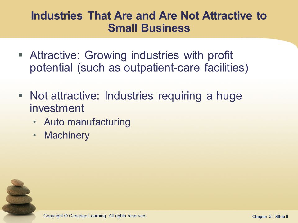 Industries That Are and Are Not Attractive to Small Business