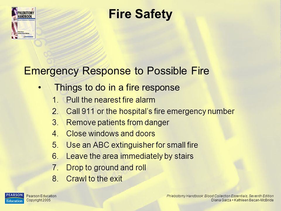 Fire Safety Emergency Response to Possible Fire
