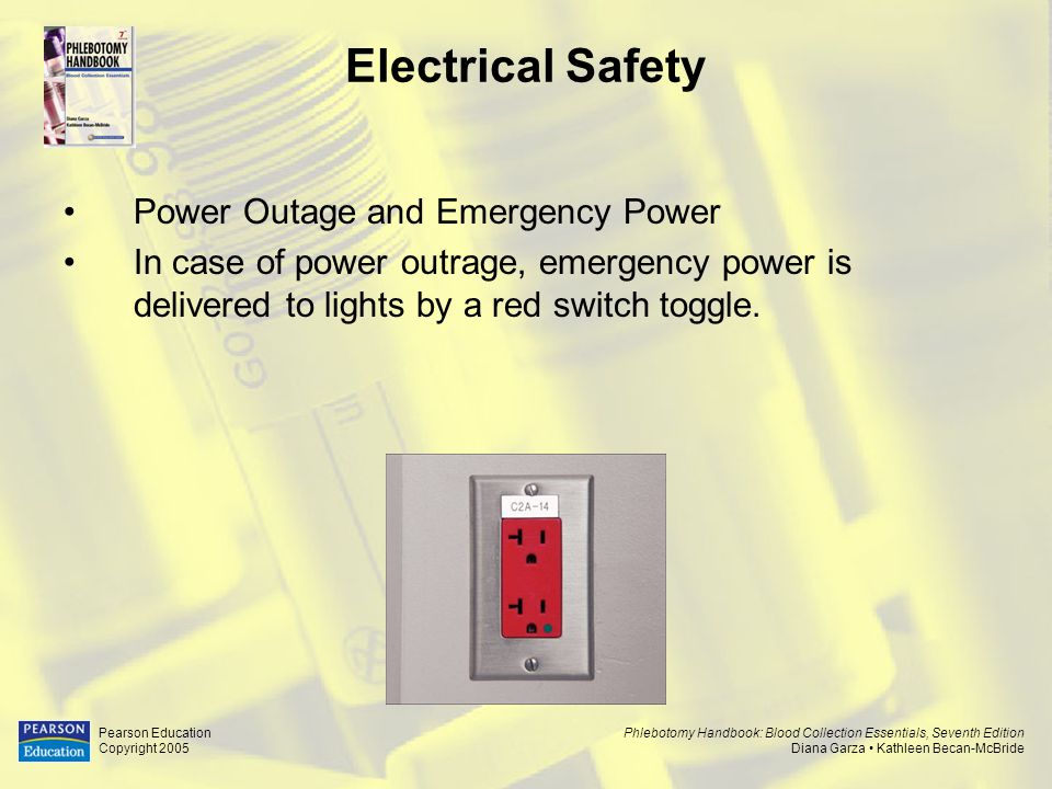 Electrical Safety Power Outage and Emergency Power