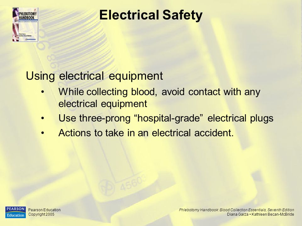 Electrical Safety Using electrical equipment