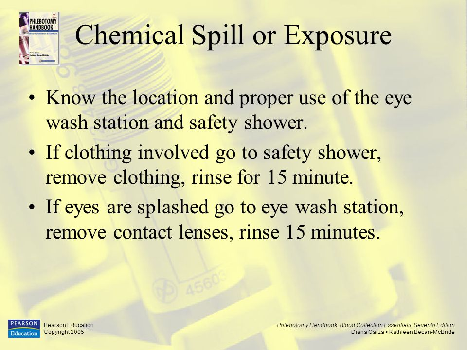Chemical Spill or Exposure