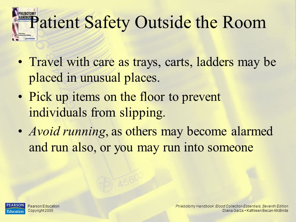 Patient Safety Outside the Room