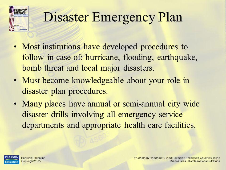 Disaster Emergency Plan