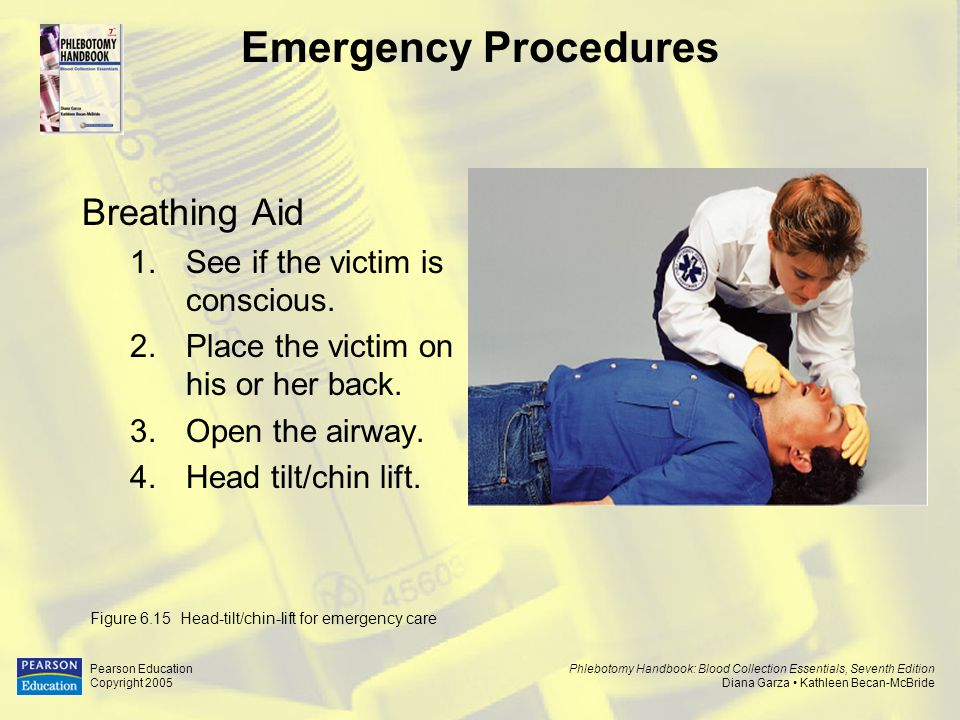 Emergency Procedures Breathing Aid See if the victim is conscious.