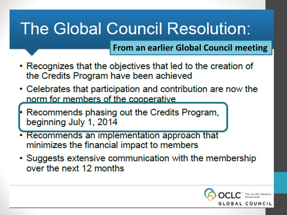 From an earlier Global Council meeting