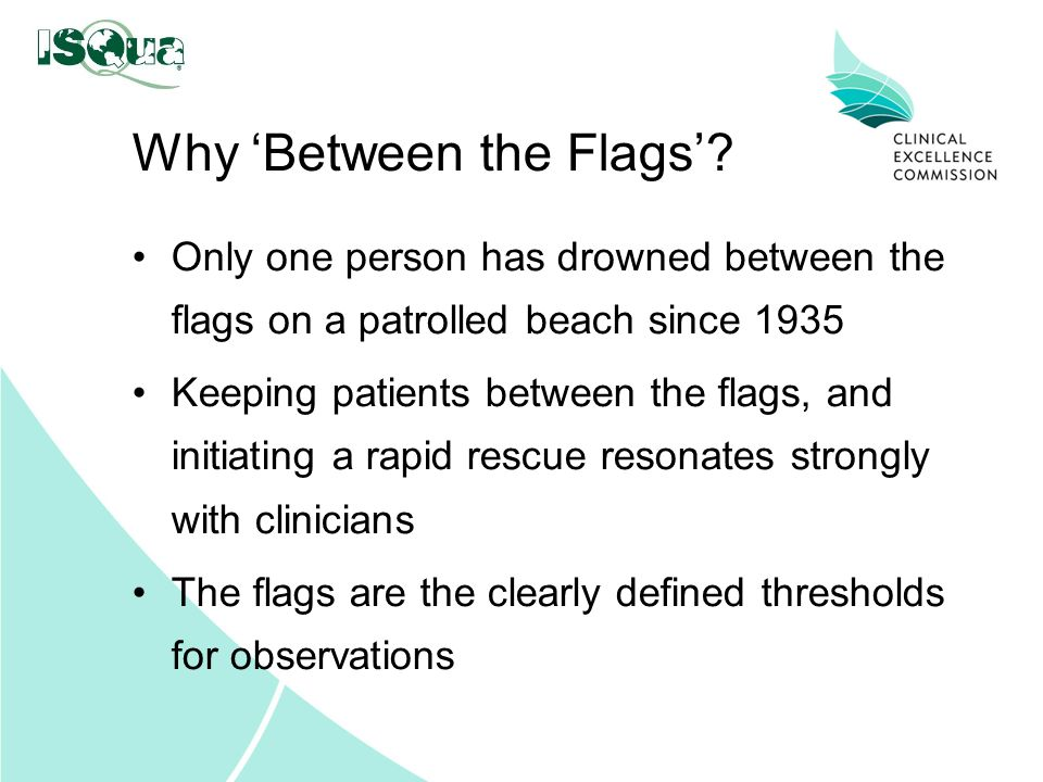 Why 'Between the Flags'