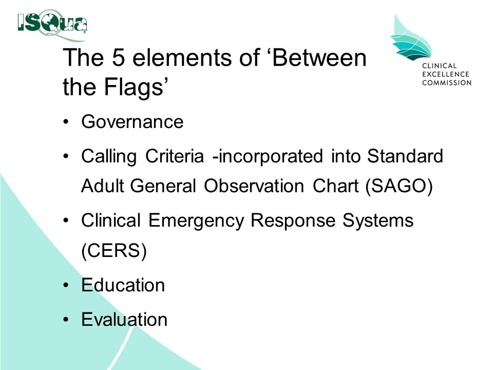 The 5 elements of 'Between the Flags'