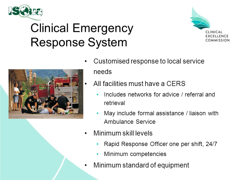 Clinical Emergency Response System