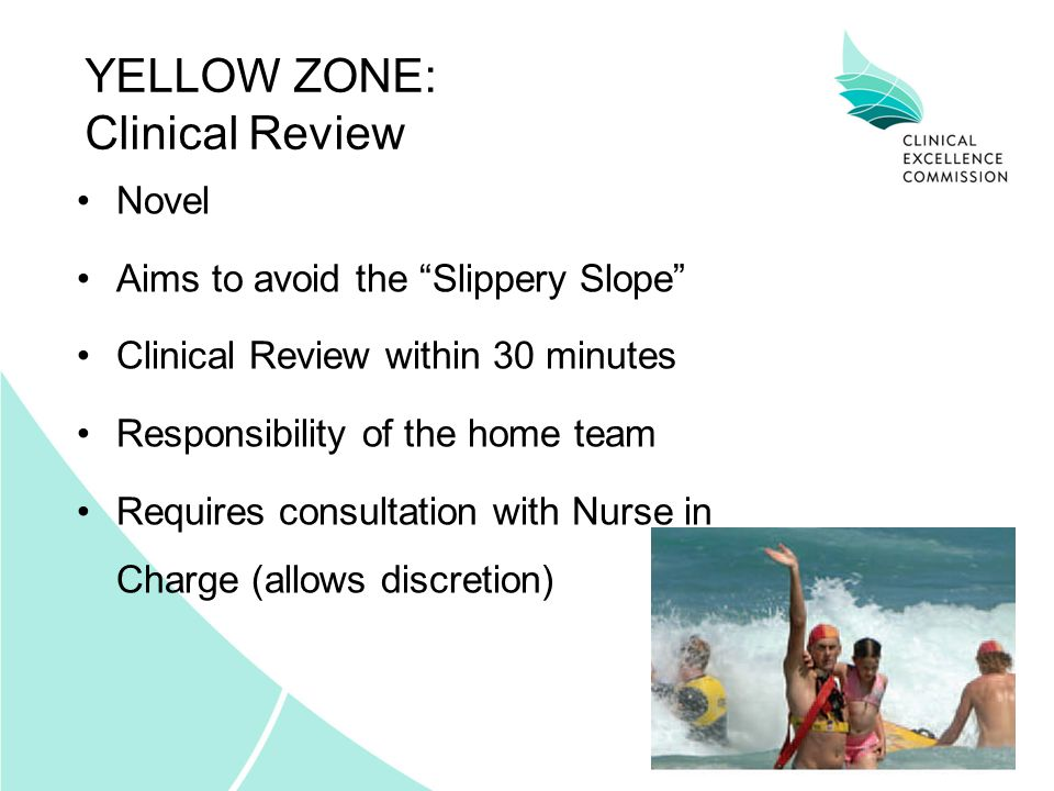 YELLOW ZONE: Clinical Review