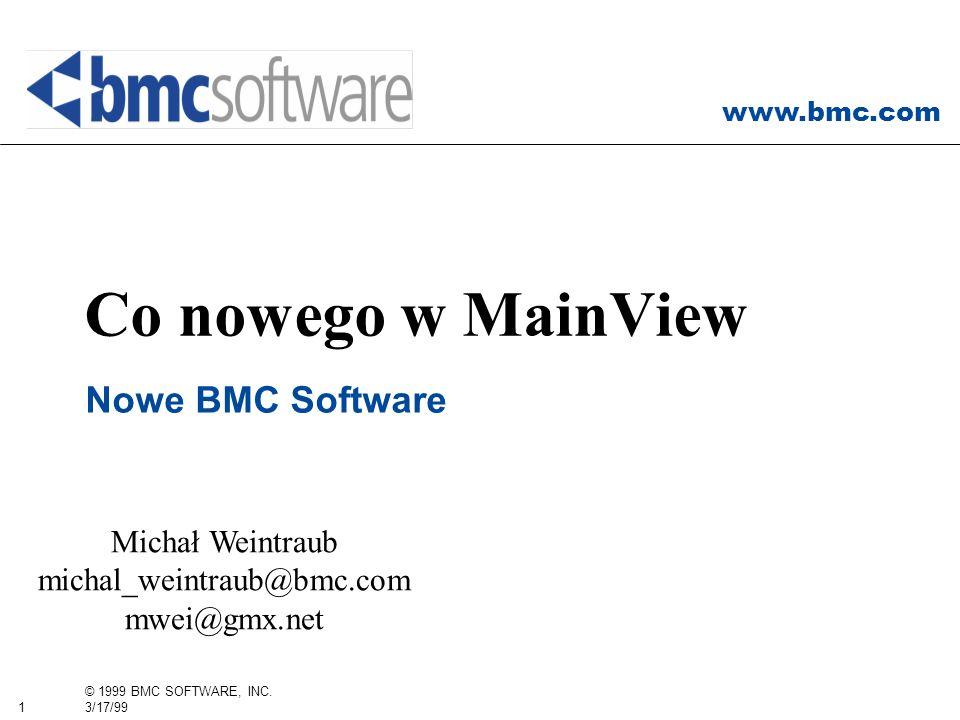 Michał Weintraub michal_weintraub@bmc.com mwei@gmx.net