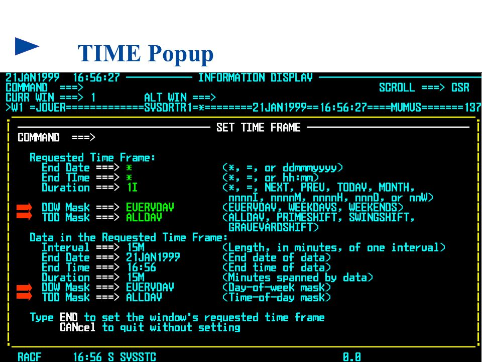TIME Popup