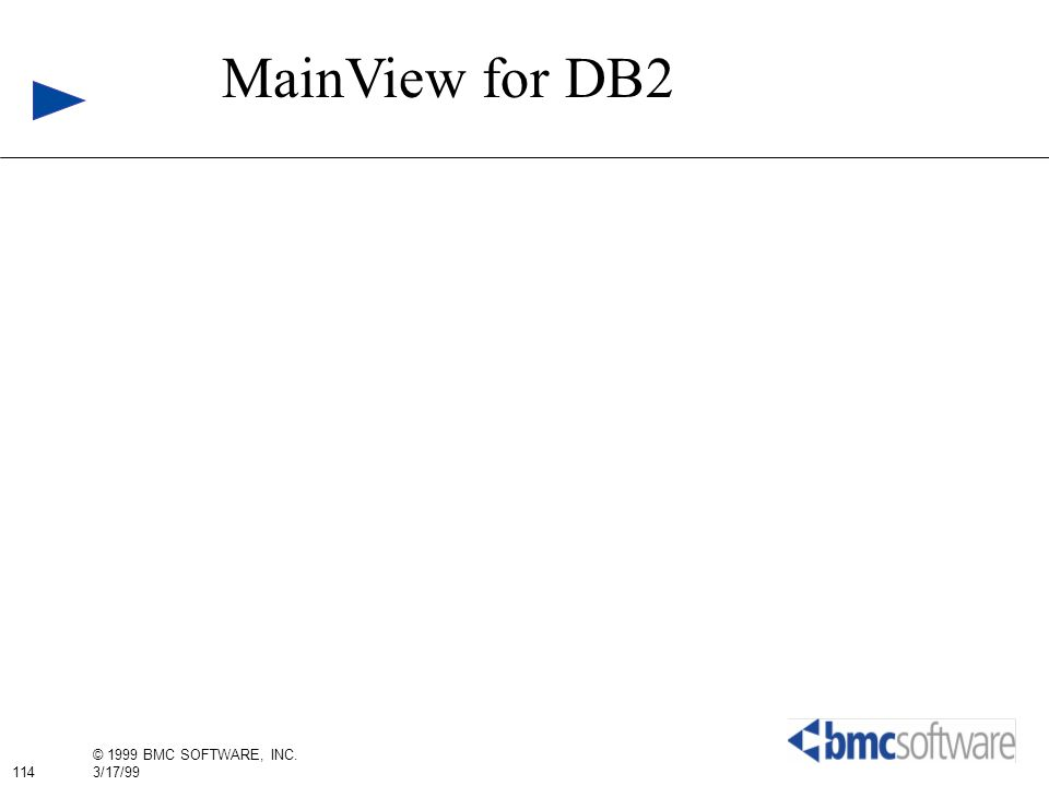 MainView for DB2