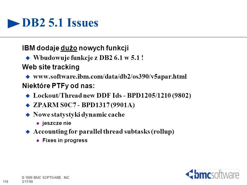 DB2 5.1 Issues IBM dodaje dużo nowych funkcji