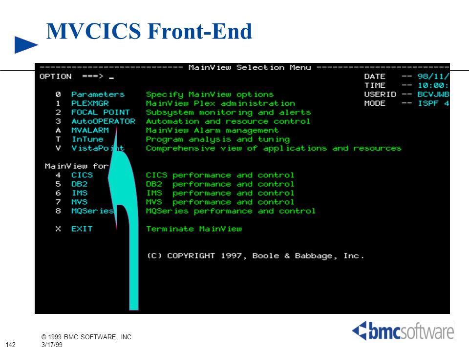 MVCICS Front-End