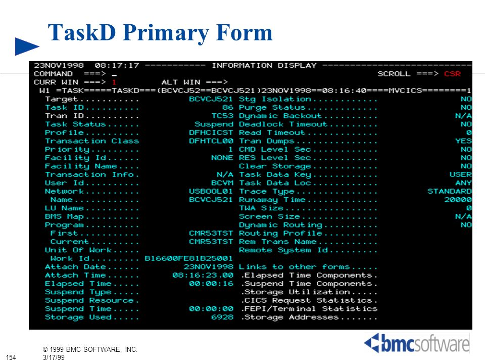 TaskD Primary Form