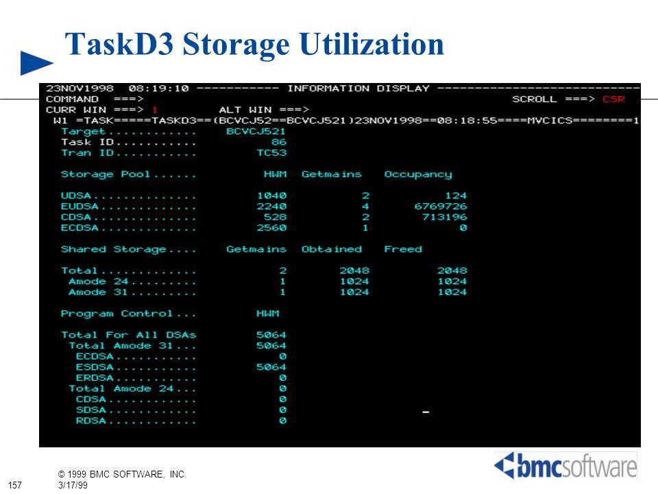 TaskD3 Storage Utilization
