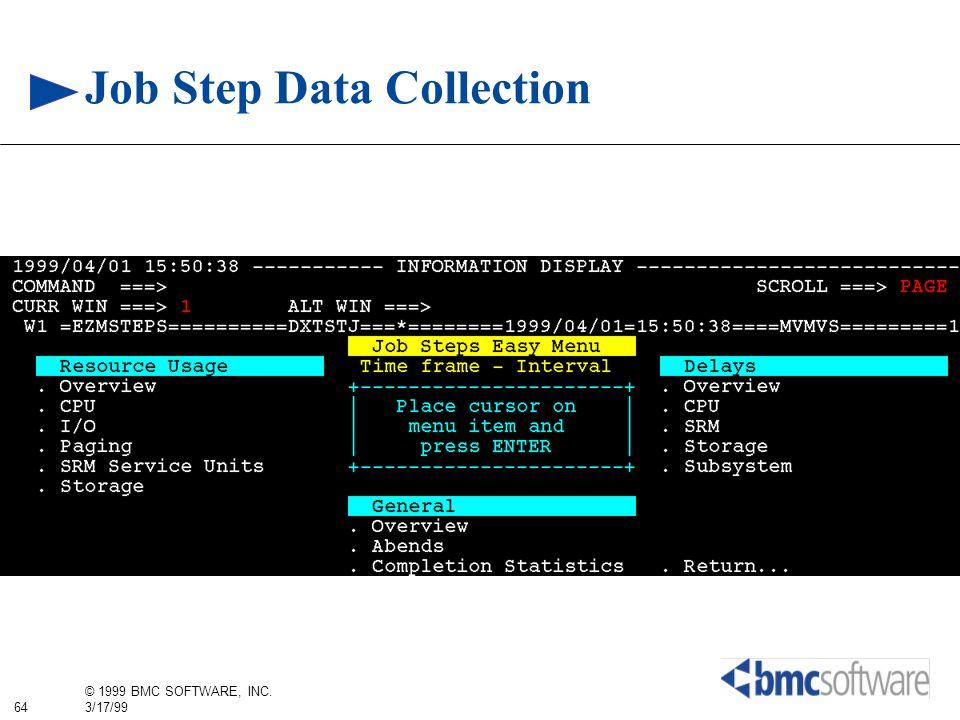 Job Step Data Collection