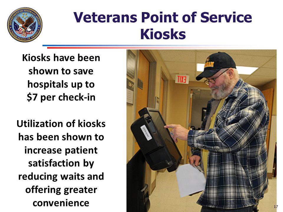Veterans Point of Service Kiosks