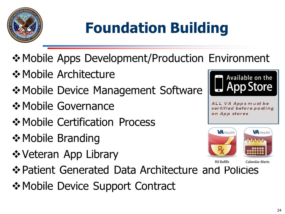 Foundation Building Mobile Apps Development/Production Environment