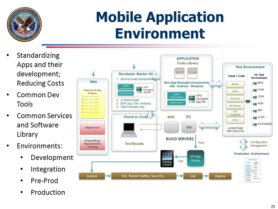 Mobile Application Environment