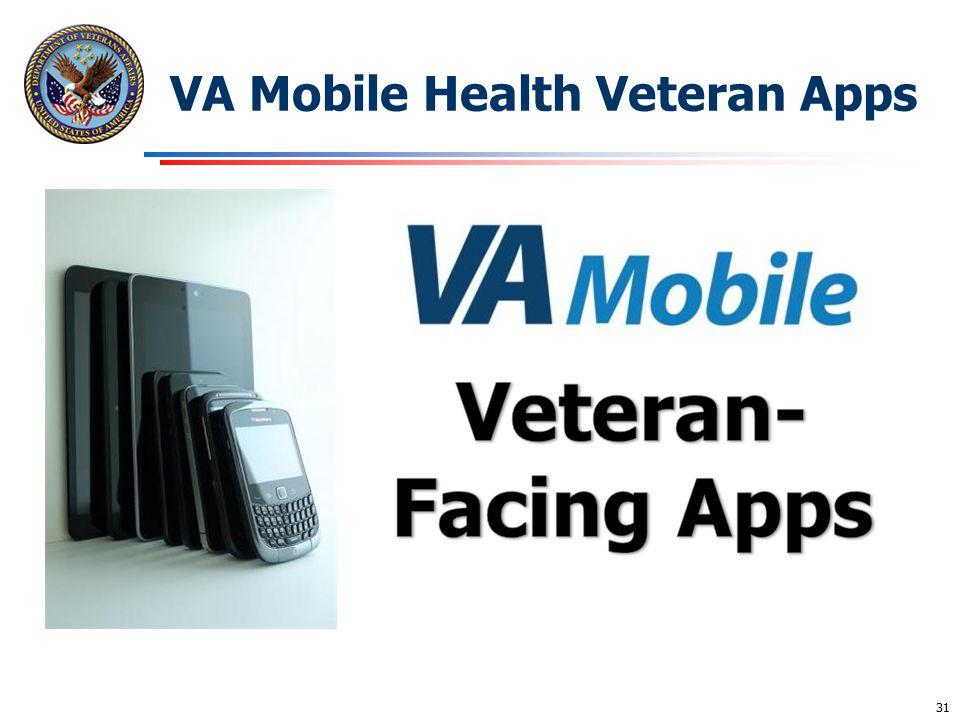 VA Mobile Health Veteran Apps