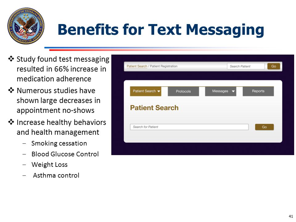 Benefits for Text Messaging